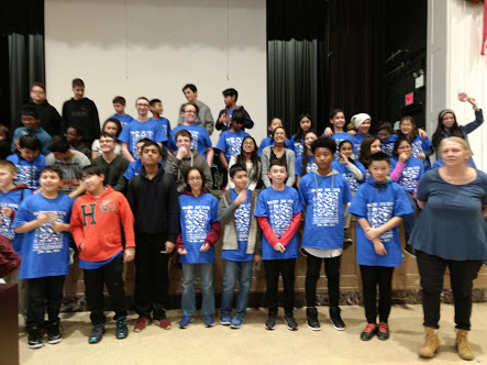 Halsey Hackathon participants, January 28, 2017